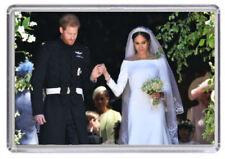 Prince Harry and Meghan Markle Royal Wedding Fridge magnet 03