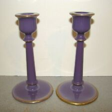 Vintage Cambridge Helio Candlesticks