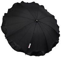 Universal Baby Umbrella Parasol Fit Maxi Cosi Dana For2 PUSHCHAIR Black