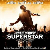 JESUS CHRIST SUPERSTAR Live In Concert 2CD NEW John Legend Alice Cooper