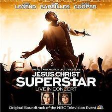 JESUS CHRIST SUPERSTAR Live In Concert 2CD NEW John Legend Alice Cooper
