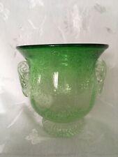 Unique Decorative Green Glass Bowl