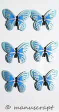 Artoz Artwork 3D-Sticker, Schmetterling blau