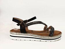 sandali estivi donna bassi aperte scarpe comode con strass