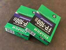 Fujifilm Fp100b Black and White Peel Apart Film Super RARE Pack of 2