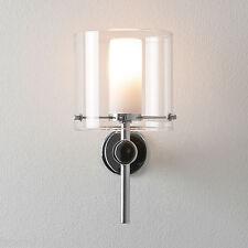 Astro 0342 Arezzo Single Bathroom Wall Light Polished Chrome Finish