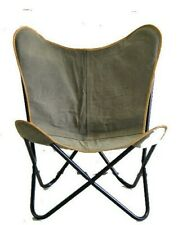 Ireland Grey Chair Iron Stand With Leather Cover for Indoor Outdoor