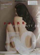 Awesome FALKE Pure Matt 50 Soft Semi Opaque Pantyhose Tights Rust Red Medium