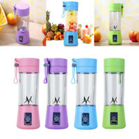 380ml USB Juicer Cup Handheld Fruit Smoothie Maker Blender Portable Recharge