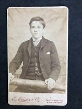 Victorian Carte De Visite CDV: Child: Mentor & Co: Southampton Portsmouth