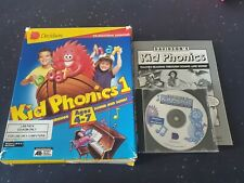 Kid Phonics 1 PC Educational Software Complete with Box Retro Game collecting