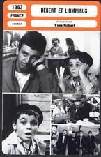 BEBERT ET L'OMNIBUS - Yves Robert (Fiche Cinéma) 1963 - The Holy Terror