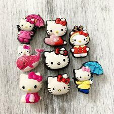 COLLECTIBLE HELLO KITTY UMBRELLA WHALE HEART JIBBITZ SHOE CHARMS Sold Separate