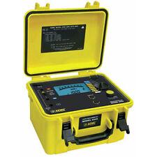 Aemc 6505 213018 Digitalanalog Megohmmeter 5000v Max Test Voltage