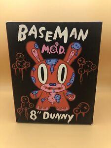 """Kidrobot Dunny 8"""" Gary Baseman Red MOD"""