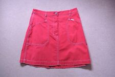 Esprit Red Vintage Skirt Size EU 36 Approx UK 8