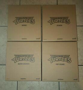 Super7 Teenage Mutant Ninja Turtles Ultimates WAVE 1 TMNT 4 Figure Set Raphael