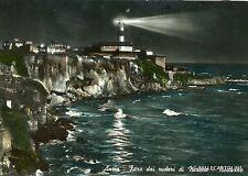 ANZIO - Faro dei ruderi di Nerone - Notturno - 1956