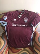 Adidas Colorado Rapids MLS  Soccer Jersey NWT Size M Men
