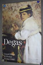 Huge Vintage 1988 Degas Hortense Valpincon Minneapolis Institute Of Arts Poster