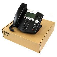 Polycom SoundPoint IP 450 SIP VoIP PoE Business Phone Set Lot NEW / 100% + FDBK