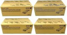 4 Original XEROX phaser 6280N Dn / 106R01395 106R01394 106R01393 106R01392