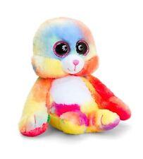 Keel Toys Animotsu 15cm Rainbow Seal Beanie Cuddly Soft Toy Plush SF1638