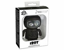 Musibytes eBOT Robot Portable Mini Travel Speakers Black iPhone Mobile Laptop