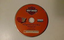 06 07 08 HARLEY DAVIDSON MOTOR CYCLE NAVIGATION CD WEST COAST CA NV OR UT TX OK