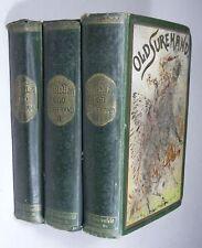KARL MAY: OLD SUREHAND Band 1-3, Gesammelte Reiseerzählungen, Fehsenfeld 1898
