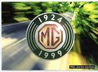 MG MGF 75th Anniversary Limited Edition 1999 UK Market Sales Brochure