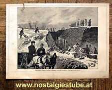 Original-Holzschnitte (1800-1899) aus Polen mit Militär- & Schlachtmotiven