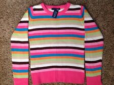 Girl's sweater top 7/8 basic editions 100% cotton beautiful rare excellent