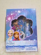 New - Disney Frozen Keepsake Box Set with Lock & 2 Keys ( FREE SHIPPING )