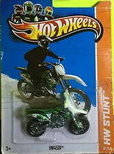 Hot Wheels HW450F Stunt Diecast metal Motorcycle toy 97/250 Mattel 3+ L2593.