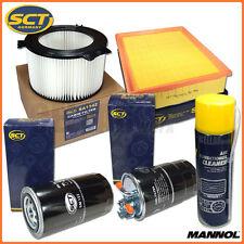 Inspektionspaket (5-tlg.) für VW T4 2.5 TDI   4 x Filter & Klimaanlagenreiniger