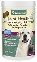 60pcs Joint Health Level 3 for Dogs & Cats Soft Chew