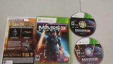 Mass Effect 3 Xbox 360 Complete CIB PERFECT Disc VERY Fast Shipping Worldwide!!!