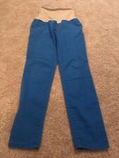 Motherhood Maternity Women's Blue Denim Legging Jean Full Panel Pants Medium