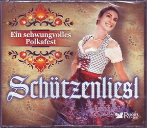 Schützenliesl - Ein schwungvolles Polkafest - Reader's Digest 4 CD Box