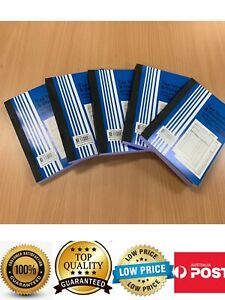 5 Books Tax Invoice Statment Book 100 Leaf Double Pages,A5 Carbonless, AU Stock