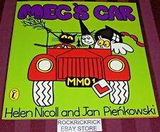 MEG & MOG COLLECTION BOOKS - MEG'S CAR (2014) -23CM X 23CM BOOK- LIKE NEW