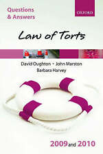 Law of Torts:by Barbara Harvey, David Oughton, John Marston...