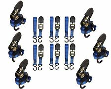 12-Pack Tie Down Strap, Motorcycle strap, ATV Strap, Ratchet strap! Bundle Deal!