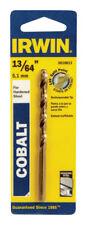 """NEW! IRWIN Cobalt High Speed Drill Bit 13/64"""" 3016013"""
