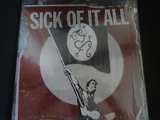 "Sick Of It All ""Call To Arms"" Original LP. 1st Edition in shrink-wrap w/insert."