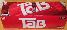 TaB Diet Cola Soda,12 OZ -12 Cans FREE PRIORITY SHIPPING 2-3 Days