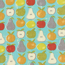 Garden Project Fruit Stand Apples Pears Oranges By the yard Tim Beck Moda
