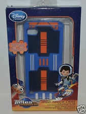 DISNEY MILES FROM TOMORROWLAND IPOD TOUCH CASE BLUE GLOWS IN DARK 5TH GENERATION