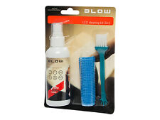 LCD Cleaning Kit for Monitor TV 3in1Gel + Wipe + Brush Super Clean Anti-Static